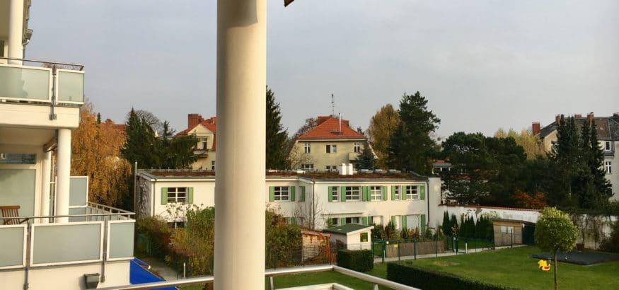 Терраса в берлинской квартире