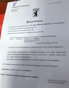Недвижимость аукцион Берлин