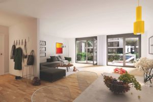Продается четырехкомнатная квартира в Берлине