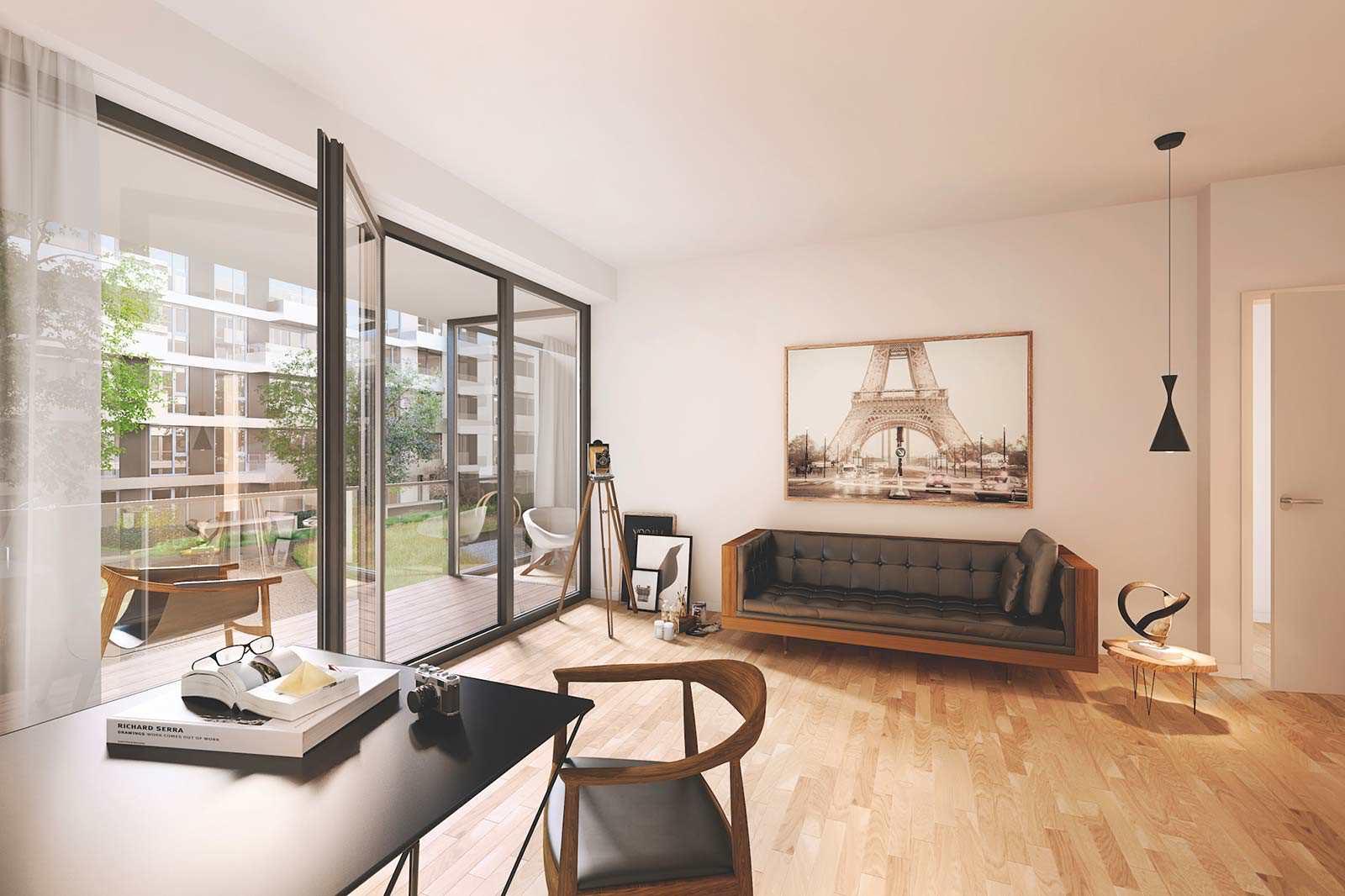 Продается двухкомнатная квартира в центре Берлина
